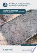 Pastas, morteros, adhesivos y hormigones. EOCB0209