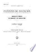 Patentes de invención concedidas, denegadas, desistidas y transferidas