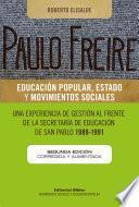 Paulo Freire: educación popular, Estado y movimientos sociales