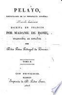 Pelayo, restaurador de la monarquía española