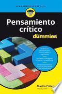 Pensamiento crítico para Dummies