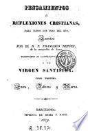 Pensamientos ó reflexiones cristianas para todos los días del año