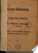 Pequeño Vademecum Farmacia Central Homeopática