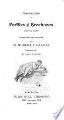 Perfiles y brochazos, cuadros y cuentos. Traduccion del Catalan