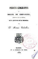Pericia geográfica de Miguel de Cervantes