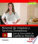 Personal de limpieza y servicios domésticos. Junta de Comunidades de Castilla-La Mancha. Temario