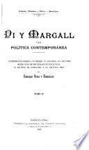 Pi y Margall y la política contemporánea