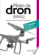 Piloto de dron RPAS 3.ª edición