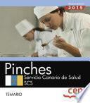 Pinches. Servicio Canario de Salud. SCS. Temario