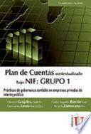 Plan de Cuentas bajo NIF: Grupo 1
