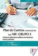Plan de Cuentas bajo NIF: Grupo 3