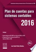 Plan de cuentas para sistemas contables en NIIF.