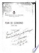 Plan de gobierno, 1947-1951