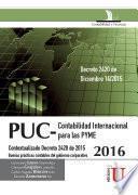 Plan Único de Cuentas 2016