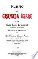 Plano de Granada árabe