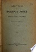 Plazas y calles de Buenos Aires