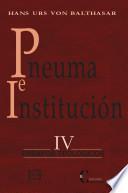Pneuma e institución