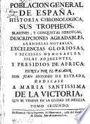 Poclacion General De España