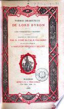 Poemas dramáticos de Lord Byron