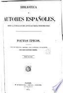 Poemas épicos, 2 (Biblioteca Autores Españoles, 29)