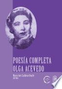 Poesía completa Olga Acevedo