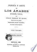 Poesía y arte de los árabes en España y Sicilia, 3