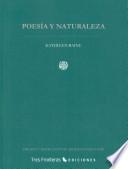 Poesía y naturaleza