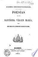 Poesias a la Santisima Virgen Maria