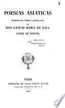 Poesias asiaticas puestas en verso castellano ...