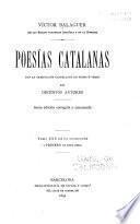 Poesías catalanas con la traducción castellana en prosa ó verso
