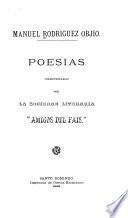 Poesías, coleccionadas por la sociedad literaria, Amigos del Pais.