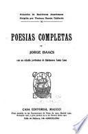Poesías completas de Jorge Isaacs