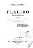 Poesías completas de Plácido (Gabriel de la Concepción Valdés).