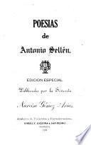 Poesías de Antonio Sellén