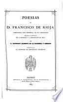 Poesias de D. Francisco de Rioja