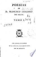 Poesias de D. Francisco Gregorio de Salas