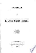 Poesías de D. José María Esteva