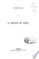 Poesías de D. Obdulio de Perea