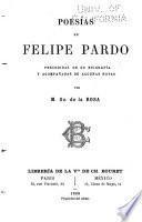 Poesías de Felipe Pardo