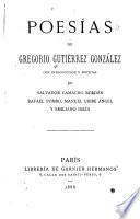 Poesías de Gregorio Gutiérrez González
