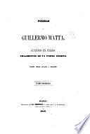 Poesias de Guillermo Matta