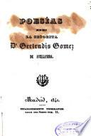 Poesias de la señorita D ?Gertrudis Gómez de Avellaneda