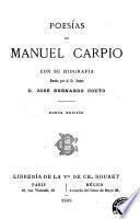 Poesías de Manuel Carpio