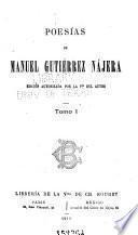 Poesías de Manuel Gutiérrez Nájera