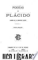 Poesías de Plácido