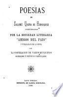 Poesias de Salomé Ureña de Henríquez