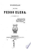 Poesías del ciego Pedro Elera