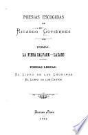 Poesías escogidas de Ricardo Gutiérrez