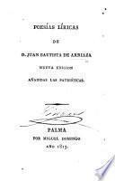 Poesías líricas ... Nueva edición, añadidas las patrióticas
