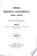 Poesías religiosas, caballerescas, amotorias y orientales